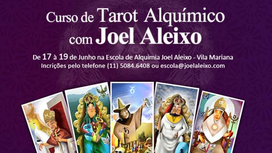 Curso de Tarot Alquímico - com Joel Aleixo