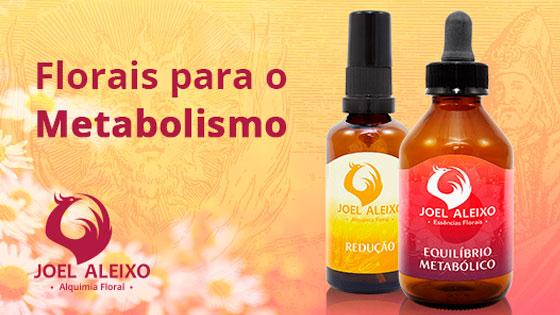 Florais para o metabolismo
