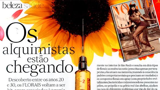 Florais Joel Aleixo na Vogue Brasil