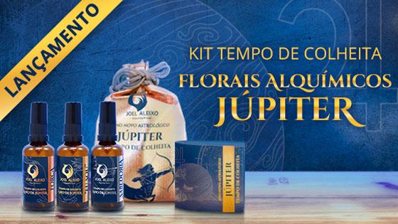 Kit de Florais Alquímicos de Júpiter