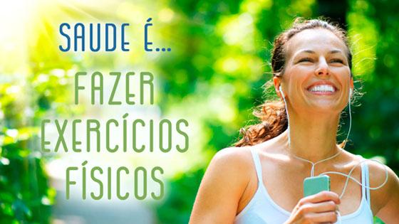 Semana da Saúde | Saúde é... Praticar atividade física